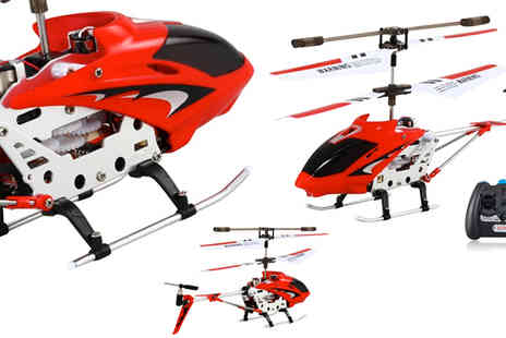 RedHotDealz - S107 3.5 Channel Mini RC Helicopter with Gyroscope - Save 53%