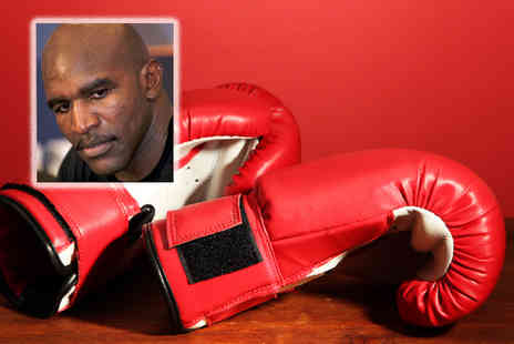 Precision Sports Management - Ticket to an evening with Evander Holyfield - Save 61%
