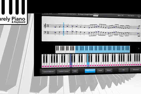 Purely Piano - Become a better pianist with this downloadable software Purely Piano - Save 74%