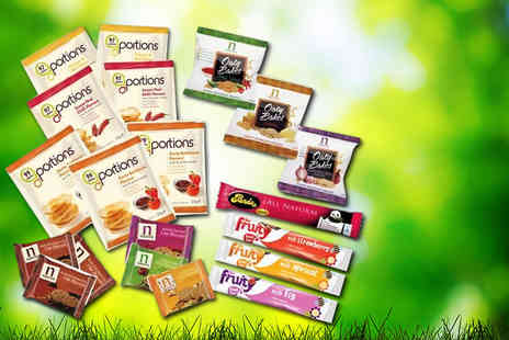 Mood Food Company - Noughty Nibbles office snack pack including 20 snacks - Save 50%