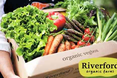 Riverford Organic Farms - 3 Deliveries of Organic Vegetable Boxes to your door - Save 34%