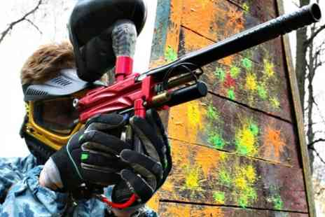 Conflict Paintball - Full Day With Lunch and 100 Balls Each - Save 75%