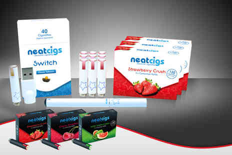 Neat Cigs - Electronic cigarette kit - Save 70%
