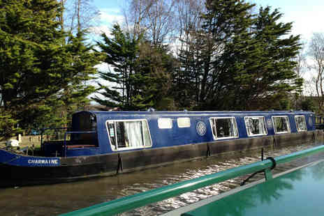 Burscough Boat Hire - Canal ride & afternoon tea or hotpot - Save 51%