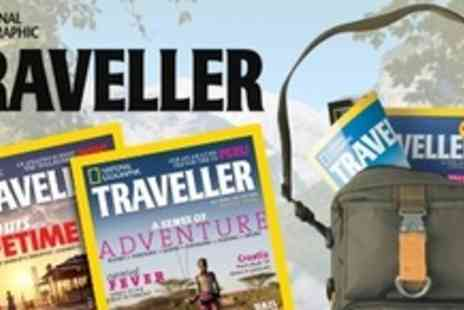 National Geographic Traveller -  Full 2012 Subscription of National Geographic Traveller Magazine - Save 78%