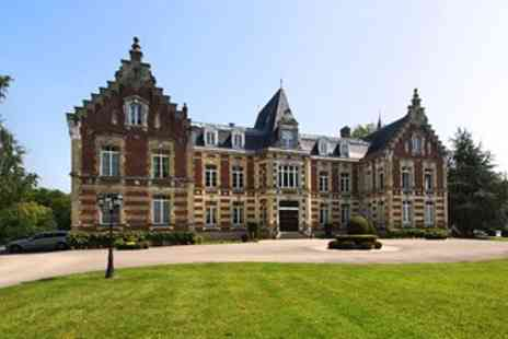 Hotel Chateau Tilques - Chateau nr Calais with Updrade & Dinner - Save 31%
