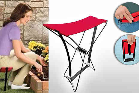 Onevolution - Put your feet up virtually anywhere with this incredible folding Pocket Chair - Save 62%