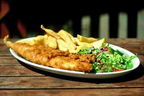 1 Oak Restaurant - Fish and Chips For Two - Save 60%