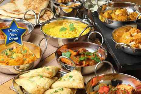 Heera Indian Restaurant - All you can eat Indian buffet for two people - Save 54%