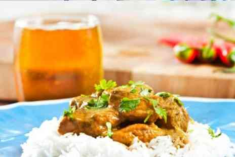 Blue Mango - Indian Meal With Sides and Beer For Two - Save 59%