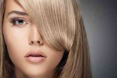 Jackie & Co - Spruce up your locks with a half head of highlights wash cut blow dry and treatment - Save 48%