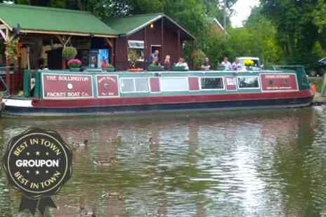 White Nancy - Countryside Canal Cruise With Lunch - Save 50%