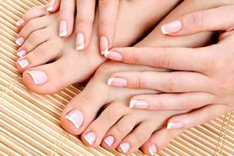 Body Beautiful - Gelish Nails For Hands or Feet - Save 57%