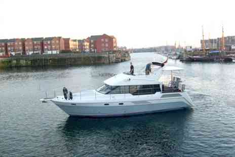 Liverpool Boat Charter - Marina Motorboat Cruise and Lunch - Save 29%