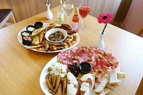 Kings Coffee - Sharing Platter With Wine For Two - Save 50%