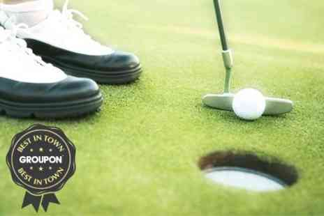 Nazeing Golf Club - Golf Food and 45 Driving Range Balls - Save 77%