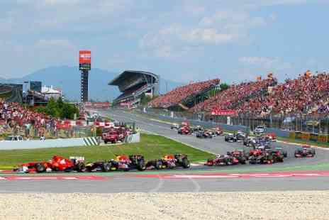 Mundotour - Spanish GP Two Nights With Race Ticket For Two - Save 24%