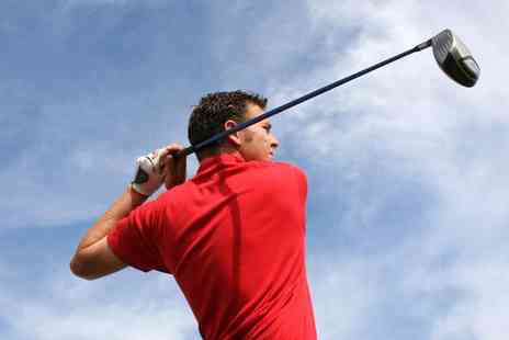 Neil Colquhoun - Two golf lessons including video analysis - Save 59%