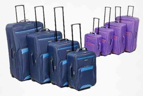 EasyGift Products - Set of Four Super Traveller Suitcases - Save 45%
