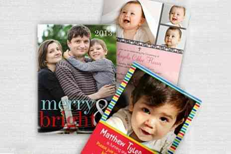 Simply To Impress - Personalised Cards - Save 60%