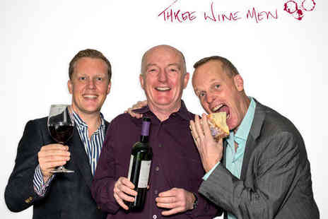 Three Wine Men - One Ticket to Three Wine Men Event - Save 10%