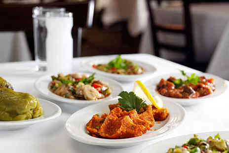 Turkuaz - Six Mezze Dishes for Two - Save 52%