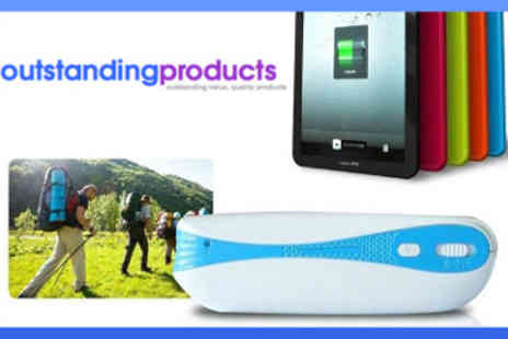 Outstanding Products - Mini Portable Wireless Router with Power Bank - Save 17%