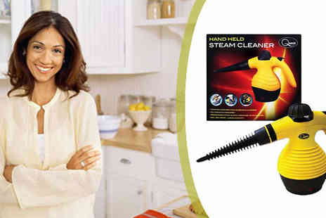 Onevolution - Portable Electric Steam Cleaner perfect for cars kitchens & carpets - Save 56%