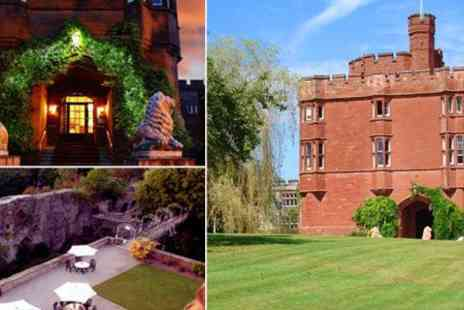 Ruthin Castle Hotel - One night castle stay for two with breakfast - Save 60%