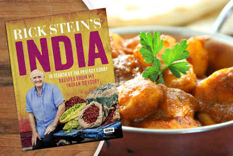 Random House Group - Hardback copy of Rick Steins India cookbook - Save 30%