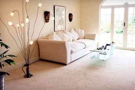 Walkers Clean - Carpet Cleaning For Three Rooms - Save 26%