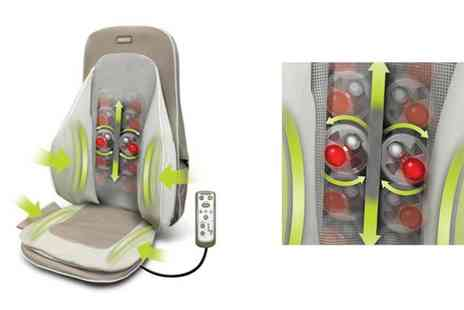 WAM Europe - HoMedics Shiatsu Massage Compression Chair - Save 72%