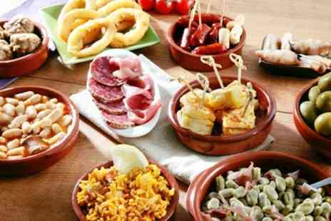 Barcelona Tapas Bar & Restaurant - Six Tapas and Bottle of Rioja For Two - Save 56%
