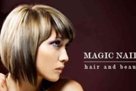 Magic Nails Hair and Beauty - Full Head of Colour Plus UV Coloured Polish For Fingers and Toes - Save 61%