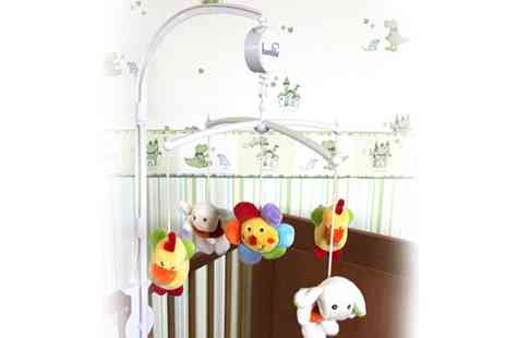 My Planet Online - Bambia Baby Cot Lullaby Mobile - Save 43%