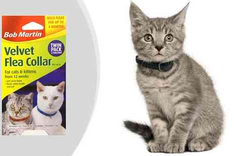 My Planet Online  - 2 Bob Martin Flea Collars for Cats - Save 58%