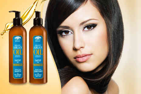 Wowcher Chemist - 300ml Argan Oil shampoo - Save 62%