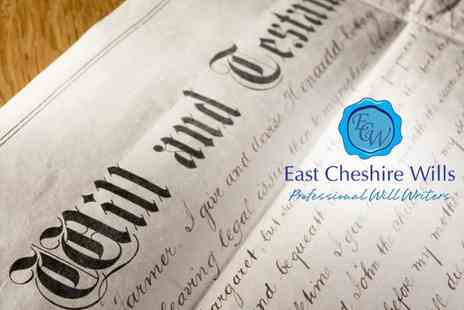 East Cheshire Wills - Single Will - Save 92%