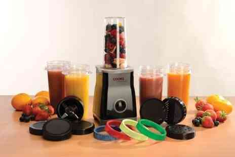 James Russell - Cooks Professional Multi Blender Three Cup Set in Black or Cream - Save 71%