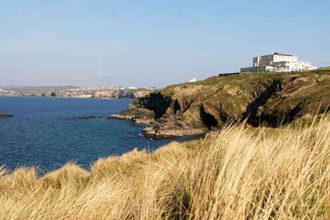 Atlantic Hotel - Two Night Newquay Stay for Two with Oysters and Champagne on Arrival - Save 44%