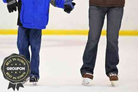 Sobell Sports Centre - Six Week Ice Skating Course Including Skate Hire and DVD - Save 67%