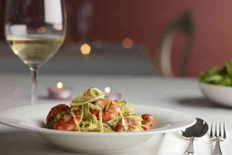 Hidden Treasure - Weekend pasta lunch for 2 including a glass of wine - Save 59%