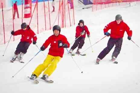Hemel Snowcentre - Beginners Skiing or Snowboarding Lesson For One  - Save 48%