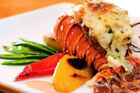 The Marina Pavilion - Half Lobster Meal For Two  - Save 42%