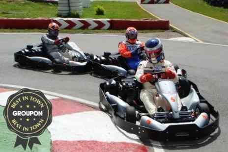 Lakeside & Brentwood Karting - 20 Minute Karting Session - Save 50%