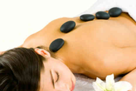 Jacquis Complementary - Full body hot stone therapy treatment - Save 60%