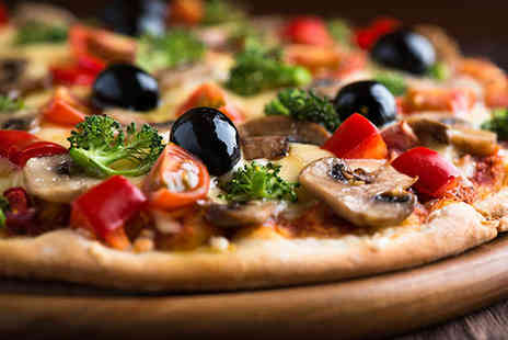 Portofino Bar and Restaurant - Pizza and Dessert Each for Two - Save 59%