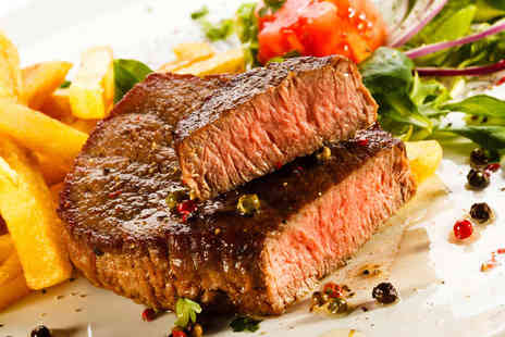 The Villager - Two Main Lunch Courses with Two Glasses of Wine or Soft Drinks with Two Starters - Save 53%