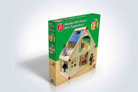 EEU - Delightful wooden doll's house - Save 50%