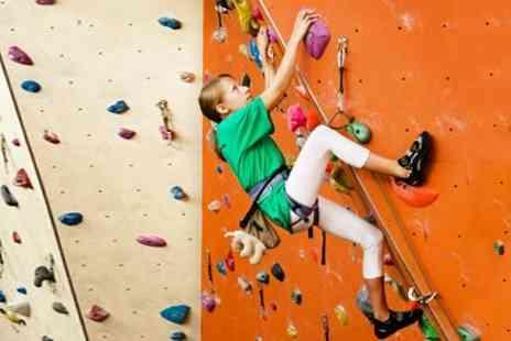 Reading Climbing Centre - One Hour Introductory Climbing Session With Equipment For Two People - Save 68%